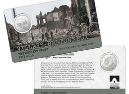 Australie 2018 50c Battle Of Villers-Bretonneux - Mint Sets & Proof Sets