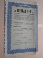 DENAEYER Willebroek / Nr. 099574 : Effect Gecreëerd Na 1944 ( Zie Foto's ) ! - D - F