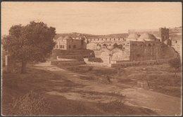 The Interior Of The Golden Gate, Jerusalem, 1921 - Jamal Bros Postcard - Palestine