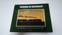 MEISTERFOTOS DER REICHSBAHNZEIT 110 AUFNAHMEN VON ALFRED ULMER 1930-1940  ( EISENBAHN RAILWAYS LOCOMOTIVES ) - Chemin De Fer