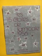 9168 - Tartegnin 1988  Les 15 étoiles De L'amicale 1956  Suisse - Etiquettes