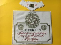 9161 - Le Parchet 1981 Selectionné Pour Le Parti Radical Morges Suisse - Politica (vecchia E Nuova)