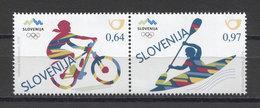 Slovenia Olympics Bicycling Rowing JO Rio 2016 2v MNH - Estate 2016: Rio De Janeiro