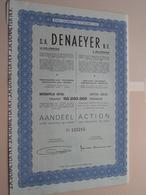 DENAEYER Willebroek / Nr. 125215 : Effect Gecreëerd Na 1944 ( Zie Foto's ) ! - Actions & Titres