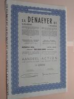 DENAEYER Willebroek / Nr. 125216 : Effect Gecreëerd Na 1944 ( Zie Foto's ) ! - Actions & Titres