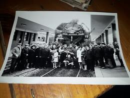 Photo Originale Du Dernier Train 141r Locomotive  Brest A Identifié - Trains
