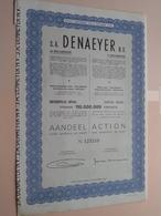 DENAEYER Willebroek / Nr. 125219 : Effect Gecreëerd Na 1944 ( Zie Foto's ) ! - Actions & Titres