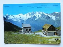 SUISSE / SCHWEIZ, AK, 1972, WEISSMIES - HÜTTE, SAAS-TAL, Hütten - Stempel, AK Gelaufen - VS Valais