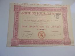 BOUCHAGES WILZIN (saint-ouen) - Unclassified