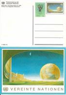 Onu, United Nations, Nations Unies, Bureau De Vienne, Entier Postal 1992,  Globe Terrestre , Neuf - Centre International De Vienne