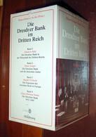Klaus-Dietmar Henke Die Dresdner Bank Im Dritten Reich - La Dresdner Bank Au Troisième Reich - 4 Volumes Neufs - 5. Zeit Der Weltkriege