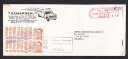 Venezuela: Registered Cover To Netherlands, 1985, 16 Stamps & Meter Cancel, Inflation?, Transport (minor Discolouring) - Venezuela