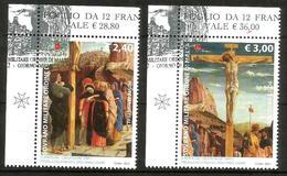 2012 ORDINE DI MALTA SMOM   Mantegna Serie Completa Usata FDC Bellissima - Malte (Ordre De)