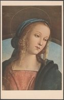Pietro Perugino - Testa Di Vergine, Firenze, C.1930 - Roberto Hoesch Cartolina - Paintings