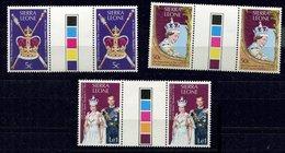Sierra Leone **  N° 408 à 410 - 25e An. Du Couronnement De Sa Majesté Elizabeth II - Sierra Leone (1961-...)