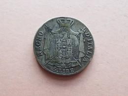 PIECE 5 LIRE NAPOLEONE IMPERATORE.1808M. ARGENT - …-1861 : Avant Réunification