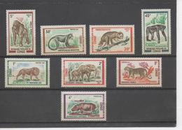 CONGO - Faune - Animaux Sauvages ; Lion, Eléphant, Panthére, Hippopotame, Gorille, Cercopithéque, Chimpanzé, - Congo - Brazzaville
