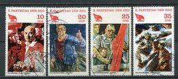 DDR Nr.2595/8          O  Used       (21832) ( Jahr: 1981 ) - DDR
