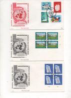 3_letters 1st Day Of Emission_69-70_Genève - Briefe U. Dokumente