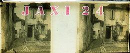 PLAQUE PHOTOGRAPHIQUE STÉRÉOSCOPIQUE ANCIENNE ET ORIGINALE  SALIES -DE-BÉARN (Pyrénées-atlantiques) 64270 - Plaques De Verre