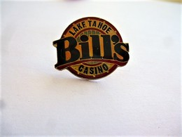 PINS JEUX  LAKE TAHOE BILL'S  CASINO  USA CALIFORNIE/ 33NAT - Games