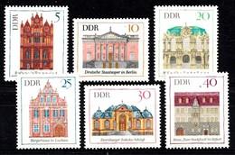 Allemagne DDR 1969  Mi.nr.: 1434-1439 Bedeutende Bauwerke  Neuf Sans Charniere /MNH / Postfris - Neufs