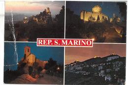 San Marino 4 Vedute Non Viaggiata  Condizioni Come Da Scansione - San Marino