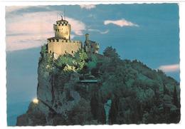 San Marino Seconda Torre Di Notte Non Viaggiata  Condizioni Come Da Scansione - San Marino