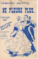 NE PLEURE PLUS - Tango De Georges ANDRE - Ill. ROBEBOUR - Partitions Musicales Anciennes