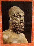 Bronzi Di Riace Statua Cartolina - Sculture