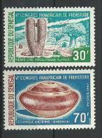 "Senegal YT 300 & 301 "" Congres Prehistoire "" 1967 Neuf** - Senegal (1960-...)"