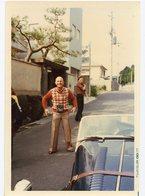 Homme  Pull Couleur 70s Fujicolor Japan Photographe Camera Appareil Photo Tergal - Personnes Anonymes