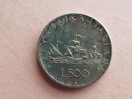 PIECE 500 LIRES A IDENTIFIER (pas De Date) ARGENT - Italie