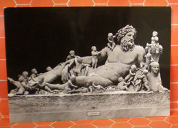 Nilo Museo Scultura Città Del Vaticano Statua Cartolina - Sculptures