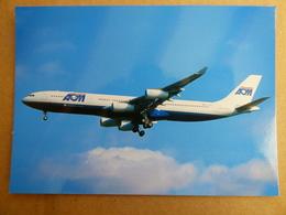 AOM  AIRBUS A 340 313   F GTUA - 1946-....: Ere Moderne