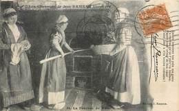 CPA 18 Cher Berry Les Chansons De Jean Rameau Illustrées - La Fournée De Pain - Déchirure En Haut Et En Bas à Gauche - Non Classés