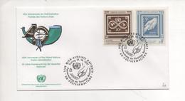 Letter 1st Day Of Emission 1991 WIEN - Centre International De Vienne