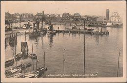 Partie Am Alten Hafen, Nordseebad Cuxhaven, C.1920s - Rudolf Veith Foto-AK - Cuxhaven