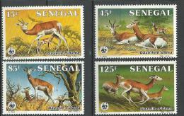 "Senegal YT 661 à 664 "" Gazellz N'dama "" 1986 Neuf** - Senegal (1960-...)"