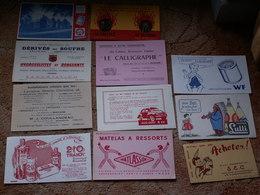 LOT  DE  11 BUVARDS Anciens Neufs - Colecciones & Series