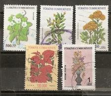 Turquie Turkey 2001/12 Fleurs  Flowers Obl - 1921-... République