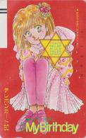 Télécarte Ancienne Japon / 110-21830 - MANGA - MY BIRTHDAY - ANIME Japan Front Bar Phonecard / A - BD COMICS TK - 10905 - Comics