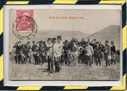 GRUSS VOM KAISER MANÖVER 1909 - Manoeuvres