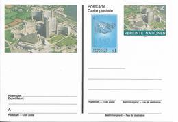 Onu, United Nations, Nations Unies, Bureau De Vienne, Entier Postal 1993,  , Neuf - Centre International De Vienne