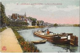Conflans Saint Honorine La Seine Et Vue Generale - Conflans Saint Honorine