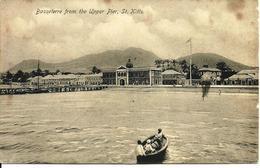 L 379 - Saint-Kitts - Basseterre From The Upper Pier - Postcards