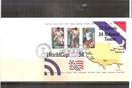 Football World Cup 1994 - FDC U.S.A.  - Yv.BF.29 (à Voir) - World Cup
