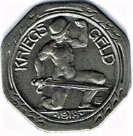 Allemagne - Nécessité - 50 Pfennig 1918 NEUENBURG - Monetary/Of Necessity