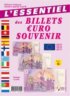 MAGAZINE DES BILLETS EURO SOUVENIR 2015 À 2017 BANKNOTE EURO SCHEIN PAPER MONEY - EURO