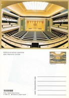Onu, United Nations, Nations Unies, Bureau De Genève, Entier Postal 1998, Neuf, Carte Postale Hémicycle - Genf - Büro Der Vereinten Nationen